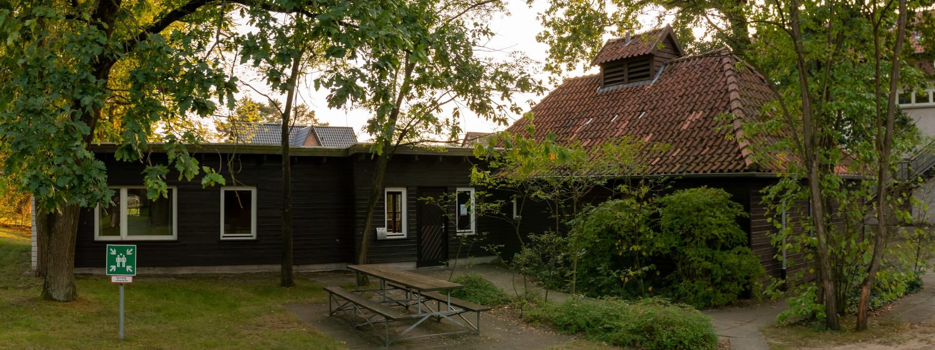 Blockhütte von außen