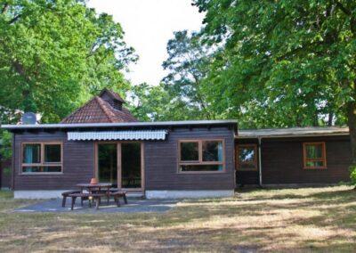 Blockhütte Terrasse